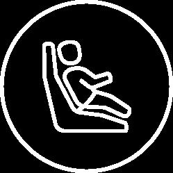 Child Safety Seat Icon