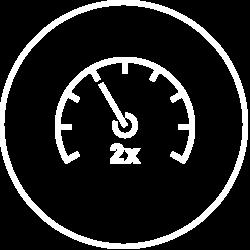 Double Speeds Icon
