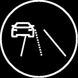 Drifting Lane Icon