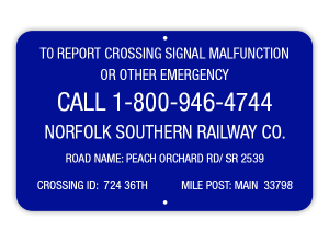 train safety, report-crossing-signal-malfunction