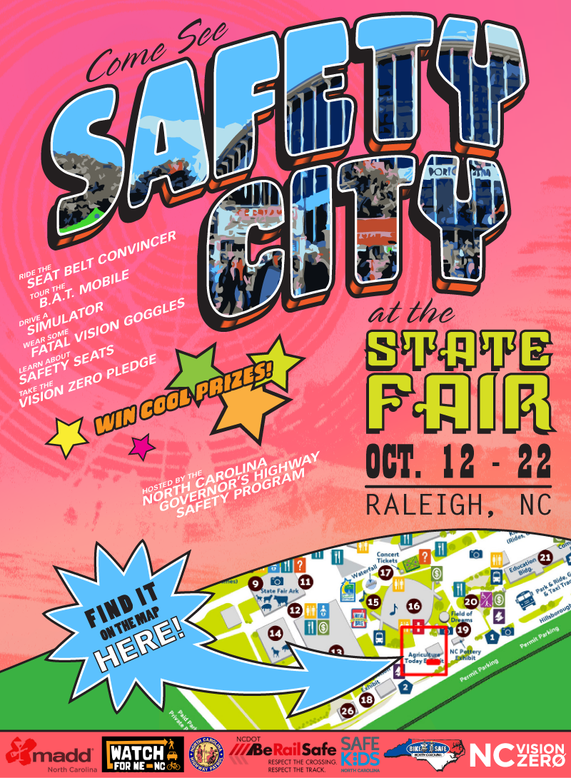 Safety City State Fair Banner
