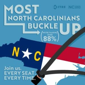 Most North Carolinians Buckle up