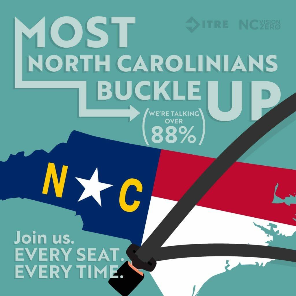 Most North Carolinians Buckle up
